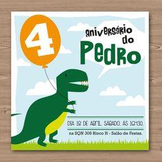 Convite Dinossauro