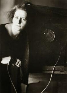 Lotte Jacobi, Selbstporträt, Berlin 1929.