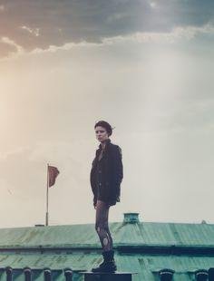 Rooney Mara as Lisbeth by Anders Lindén.