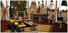 1000 images about safari jungle living room on pinterest for Jungle living room ideas