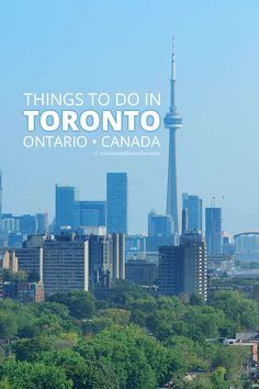 Things to do in Toronto - From getting down with nature to seeing some of the finest man-made architecture ever built, there are so many places to visit in Toronto Ontario Canada. Ontario Travel, Toronto Travel, Solo Travel, Travel Tips, Travel Articles, Usa Travel, Travel Guides, Montreal, Vancouver