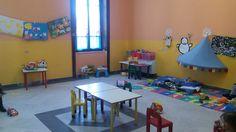 Aula destinata ai bimbi della scuola dell'infanzia.  http://www.scuolasavio.it/scuola-dell-infanzia.html