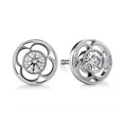Fantastic Circular Diamond Earrings