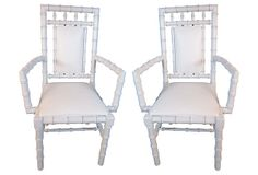 1960s Faux-Bamboo Armchairs, Pair on OneKingsLane.com
