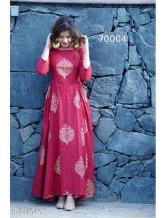 Long Anarkali, Anarkali Kurti, Lehenga, Churidar, Anarkali Dress Pattern, Dress Patterns, Rayon Kurtis, Cotton Gowns, Frock For Women