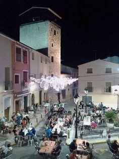 Alcalali disfruta sus fiestas (Alicante)