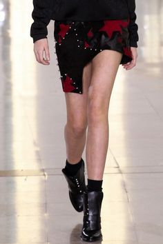Star Patchwork Leather Skirt from Anthony Vaccarello AW15/16 Shop it here: http://www.precouture.com/en/3-fashion-designers-clothing-eshop#/designer-anthony_vaccarello