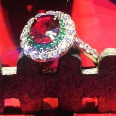 Ruby Ring #love #rubys #lovewhatido #rings #emerald #diamond #diamonds #oneofakind #liveisbetter #wearingisevenbetter #decoration #film #gregorysjoaillier #handmade #jewellery #jewelry #madejustforyou #successful #womenwear #womenstyle #betheonlyone