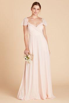 Flattering Bridesmaid Dresses, Grey Bridesmaids, Affordable Bridesmaid Dresses, Wedding Dresses, Grad Dresses, Convertible Dress, Pleated Bodice, Dress Brands, Tan Wedding