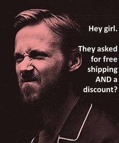 Ryan Gosling is so good to small business owners.