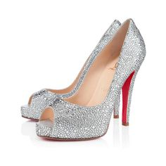 Very Riche Strass Crystal 120mm Pumps