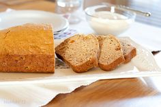 Gingerbread Loaf w/Orange-Honey Cream Cheese Spread