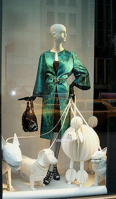 Valentino Display #merchandising #fashion #display