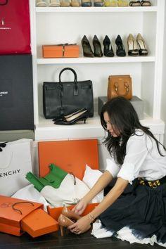 Declutter your wardrobe | theglitterguide.com