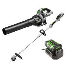 """15"""" 56V Lithium-Ion Cordless String Trimmer  Bare Tool 530CFM Cordless Blower $249  Free Shipping"""
