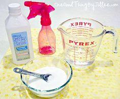 Make Your Own Homemade Hairspray