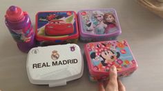 Nye madkasser på lager: Real Madrid, Minnie Mouse, Frost, Cars, samt Tro...