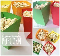 Popcorn fatti in casa