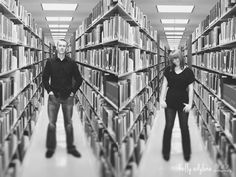 Couple - library session
