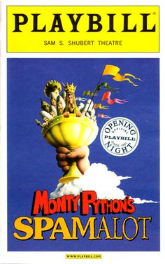 been to New York City and saw Spamalot (as well as several other shows during various visits to NYC)