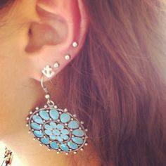 My new ear peircings!