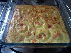 Omelete de forno super proteíco é barato, fácil, fica pronto em 20min.
