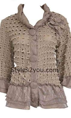 Pretty Angel Clothing Lady Clarissa Cardigan in Brown