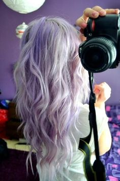 Violet. One of the most popular colours right now. www.10500hair.com