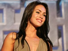 megan fox with red dress