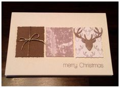 Card Creations by Ellis van Veenendaal: noch eine (Ge)weihnachtskarte...