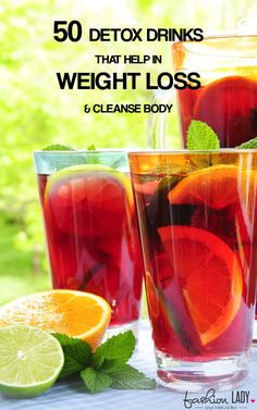 50 Detox Drinks That Help In Weight Loss And Cleanse Body