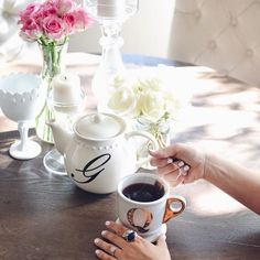 Favorite way to start a sunday - raspberry leaf tea and absolutely no plans (How is PB a part of your Sunday plans? Share with us on #mypotterybarn)
