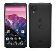 Nexus 5 將到來, evleaks 又爆官方圖