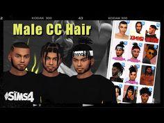Sims 4 Cas, Sims Cc, Sims 4 Cc Eyes, Sims 4 Black Hair, Urban Male, Sims 4 Cc Finds, Sims 4 Custom Content, Hair And Beard Styles, Art Sketches