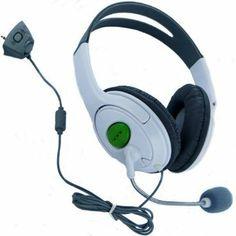 Generic Headset with Microphone - Xbox 360 --- http://www.amazon.com/Generic-Headset-Microphone-Xbox-360/dp/B001E93IWI/ref=sr_1_69/?tag=triniversalne-20