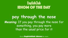 Idioms, Day, Meant To Be, Languages