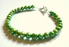 Pretty green pearls