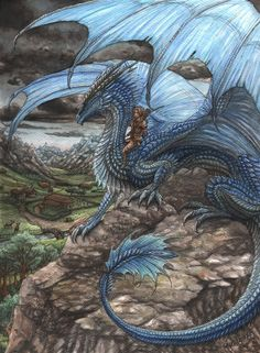 Sapphira and Eragon by Sunima.deviantart.com on @DeviantArt
