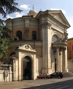 Iglesia de San Andrea del Quirinale. Roma Italia.