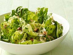 Warm Butter Lettuce Salad With Hazelnuts recipe from Food Network Kitchen via Food Network