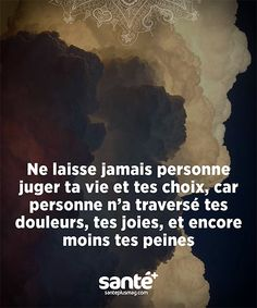 Citation ♥ Vie Positive, Positive Attitude, Sad Quotes, Words Quotes, Jolie Phrase, Quote Citation, Free Mind, Writing Words, French Quotes