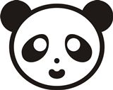 Wspieram.to PandaLajka - aplikacja dla III sektora Panda, Mario, Fictional Characters, Fantasy Characters, Pandas