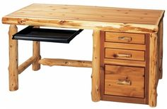 Cottage Student Desk w/ File drawer