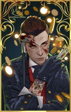 Kaz by Freiheit on DeviantArt Character Inspiration, Character Art, Character Design, Bioshock, The Darkling, Crooked Kingdom, The Grisha Trilogy, Leigh Bardugo, Crow Art