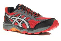 Asics GEL-FujiTrabuco M pas cher - Chaussures homme running Trail en promo d5ed06427aad
