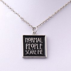American Horror Story Tate Necklace
