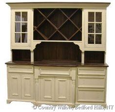 Country Style Dining Room Hutch Willow Furniture