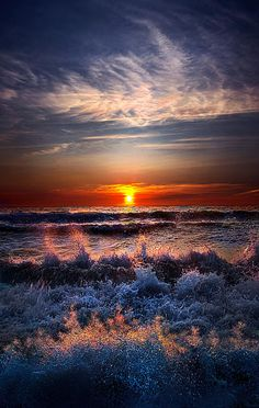 Restless by Phil Koch - Sunrise on Lake Michigan