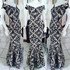Evana Couture Fashion (polynesian style) - follow @queenfressh