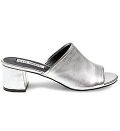 9512ecc182cbc2 Our editors are LOVING slide on mules as the perfect shoe to transition  into fall.